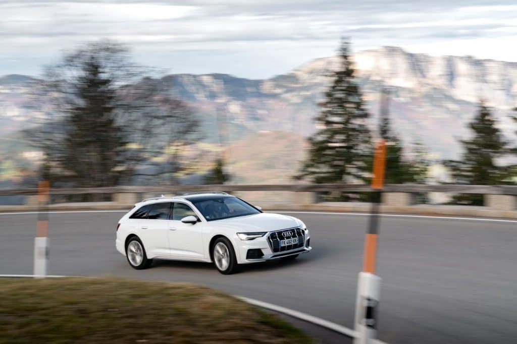 Test sur route de l'Audi A6 allroad