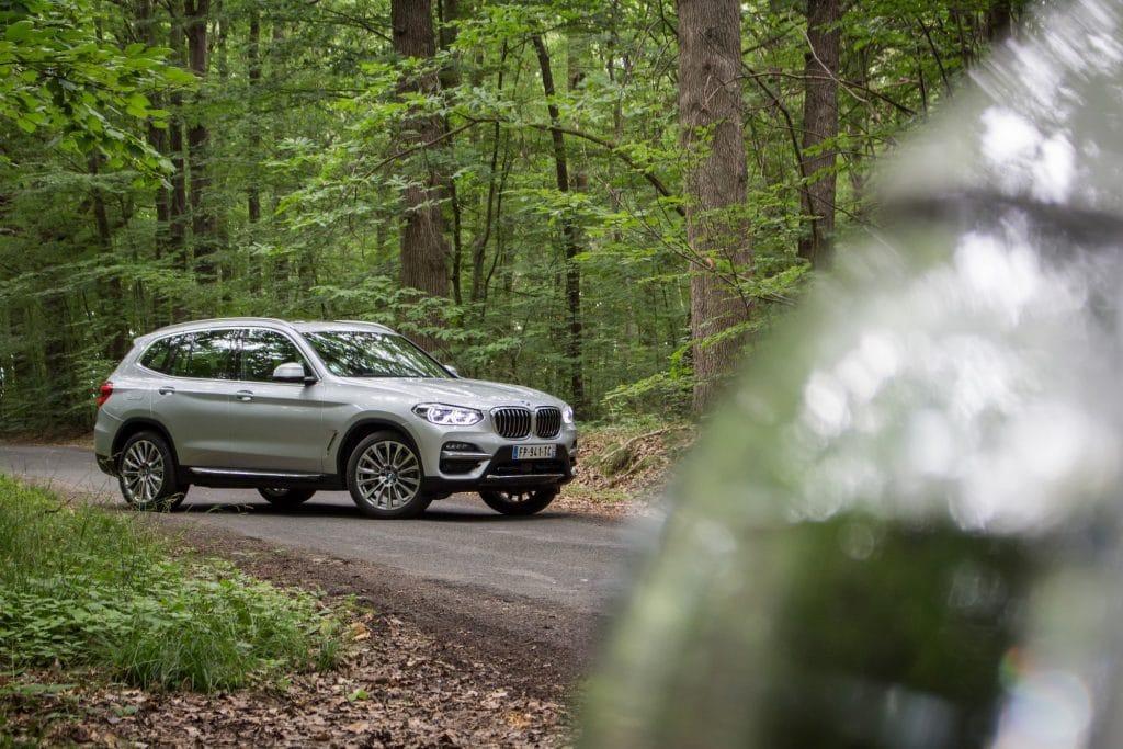 Essai sur route du BMW X3 hybride
