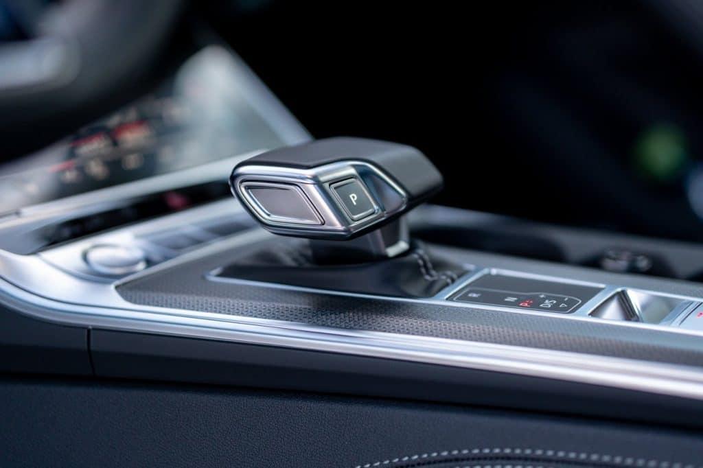 Levier de vitesse de l'Audi A6 allroad