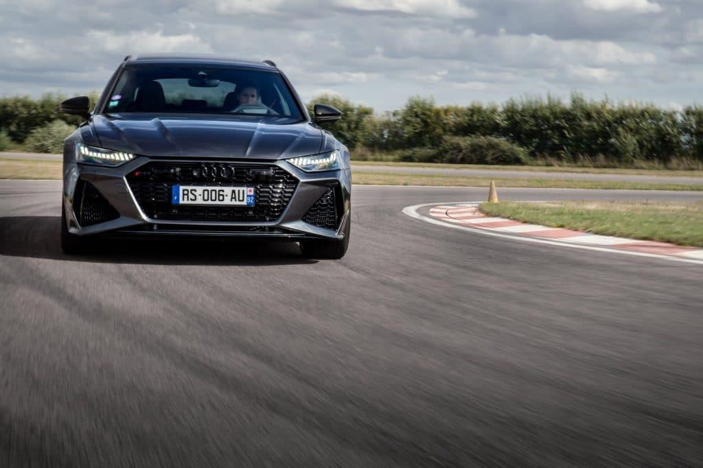 Test sur route de l'Audi RS6 Avant