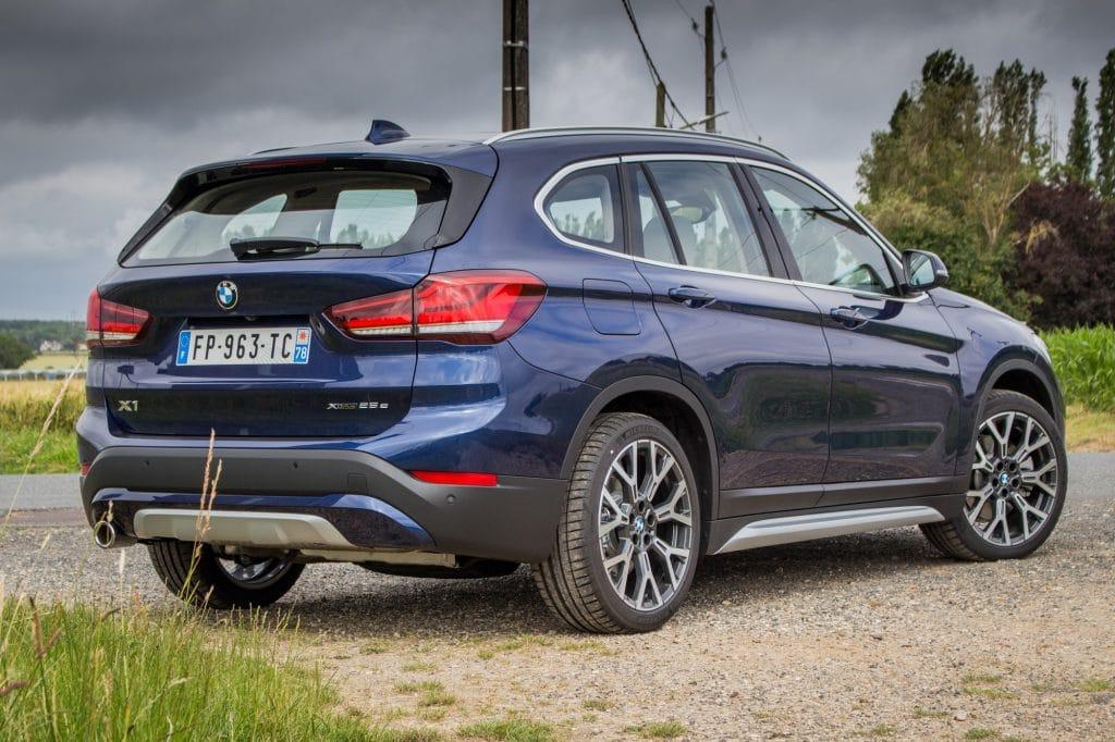 Vue arrière du BMW X1 xDrive e25