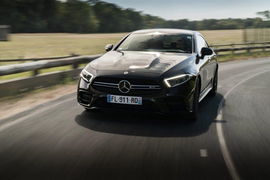 Mercedes-AMG CLS 53 sur la route