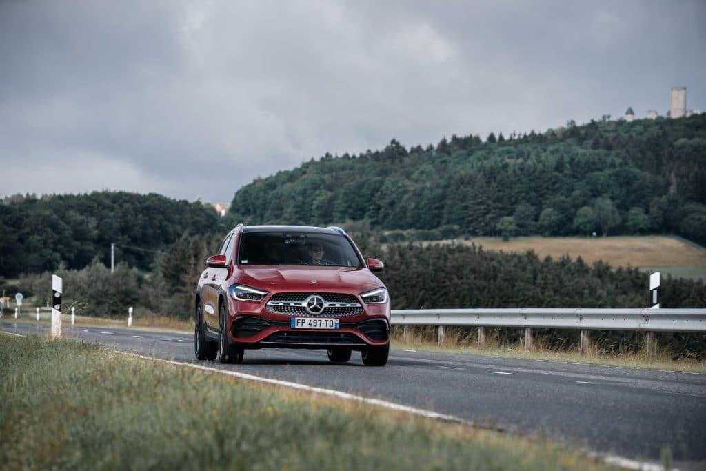 Test sur route du Mercedes GLA