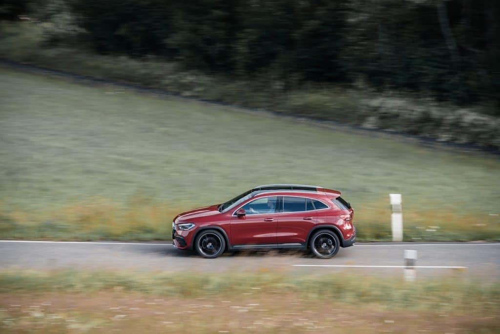 Essai en conduite du nouveau Mercedes GLA