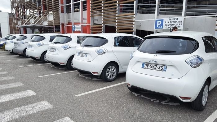 Plusieurs Renault ZOE