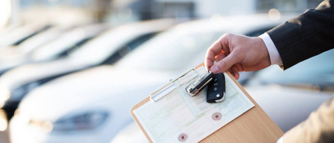 Contrat pour un leasing auto