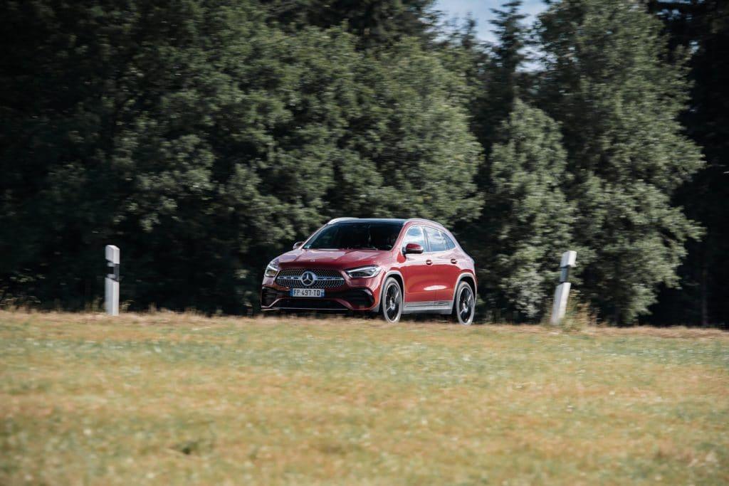 Test de conduite du Mercedes GLA