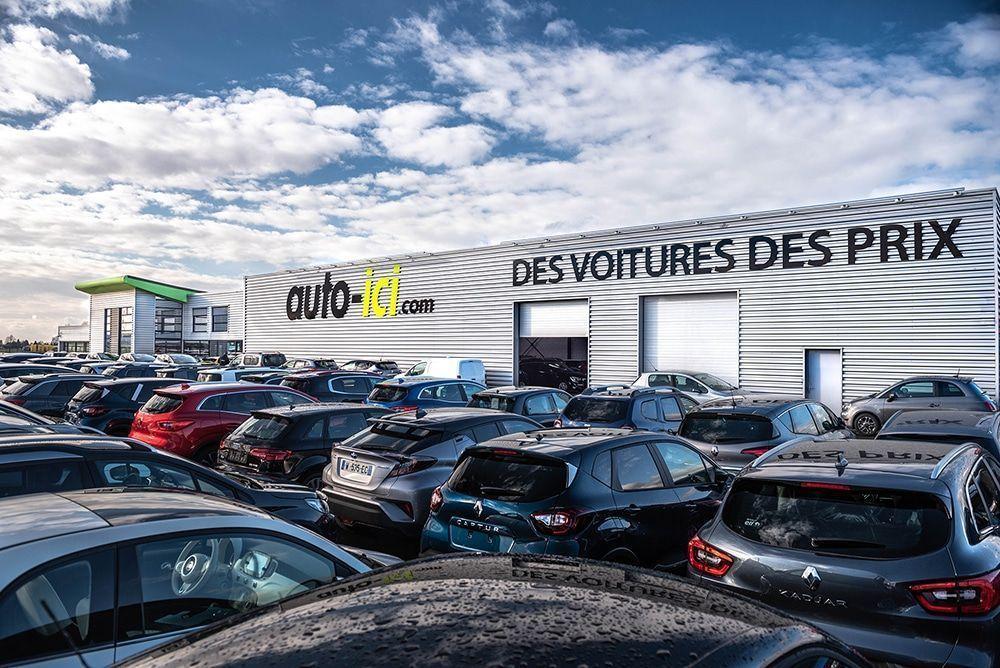 Le nouveau showroom de Auto-ici à Lille.