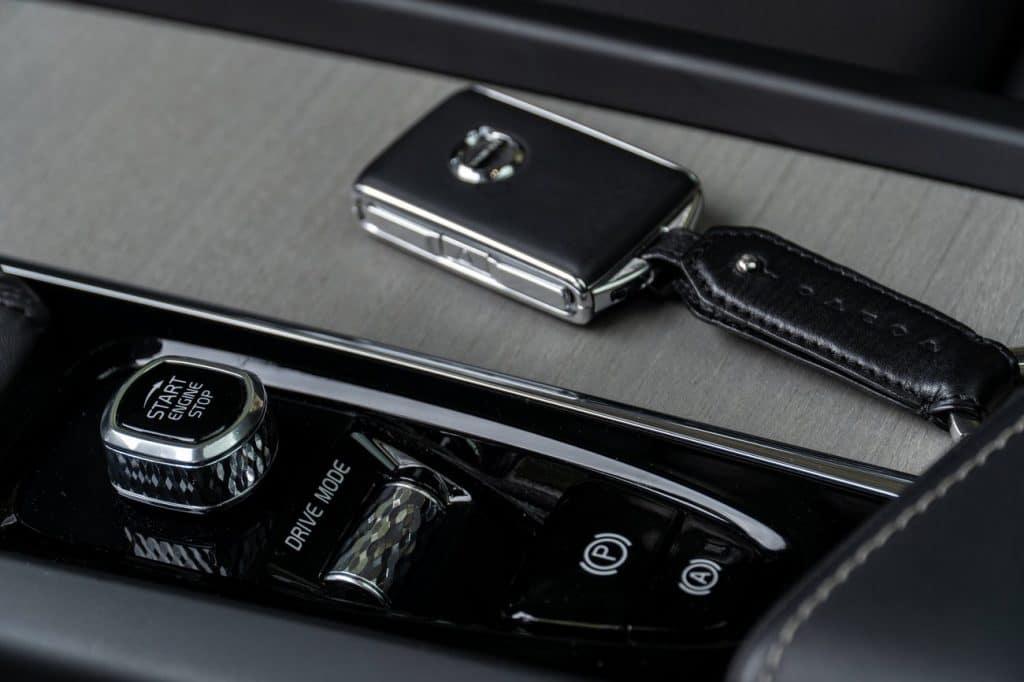 Boîte de vitesse du Volvo V60