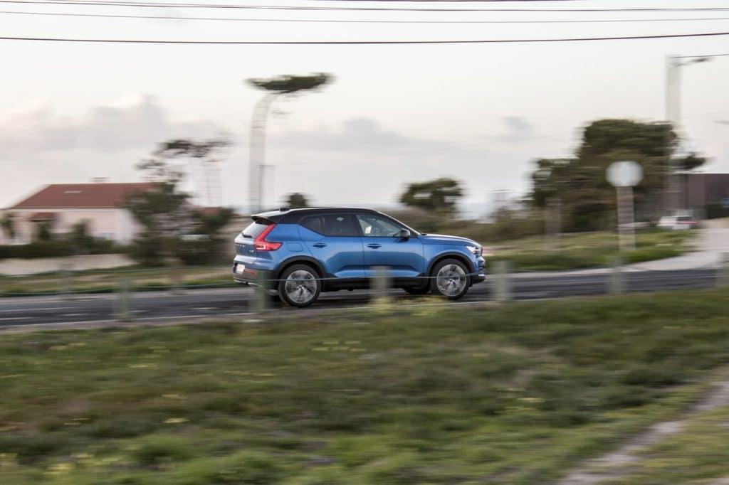 Test en conduite du Volvo XC40