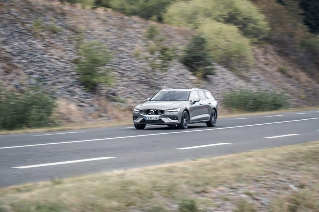 Test sur route du Volvo V60