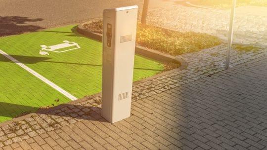 Parkings réservés aux voitures électriques