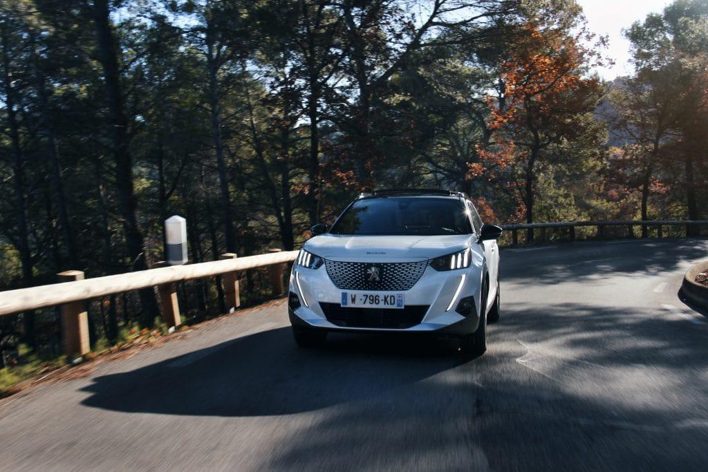 Essai en conduite de la Peugeot e-2008