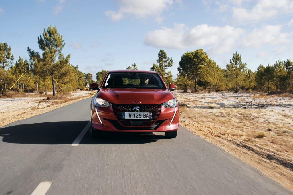 Test sur route de la Peugeot e-208