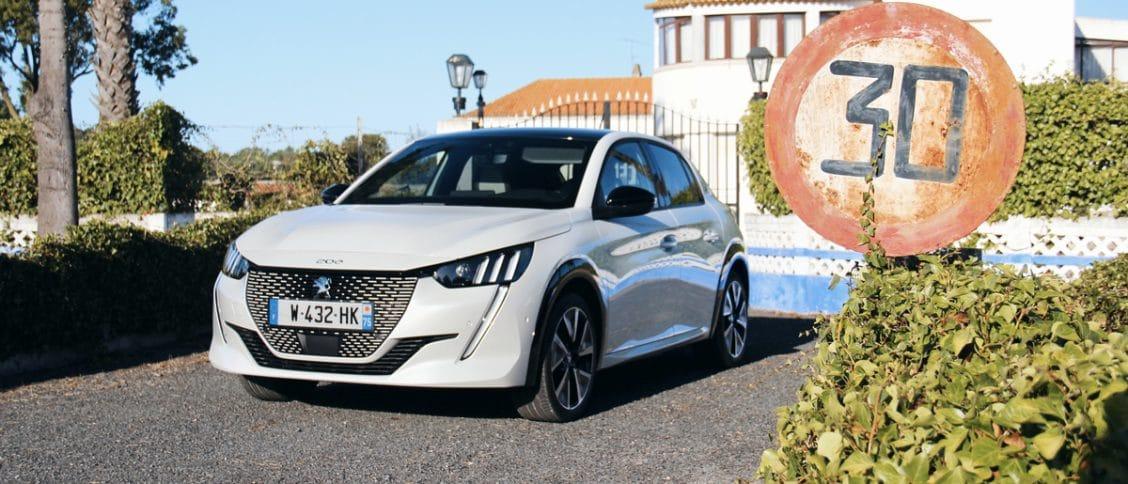 Essai auto de la Peugeot e-208