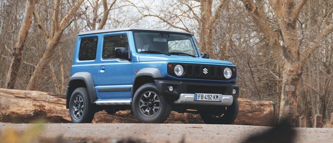Essai auto du Suzuki Jimny