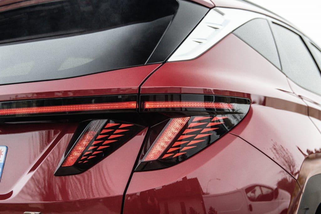 Feux arrières du Hyundai Tucson