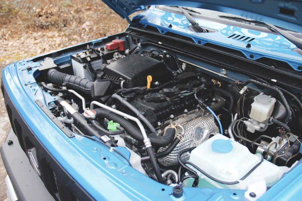 Le moteur du Suzuki Jimny