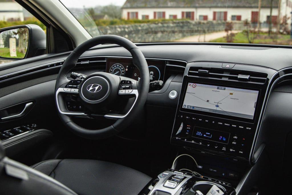 Poste de conduite du Hyundai Tucson