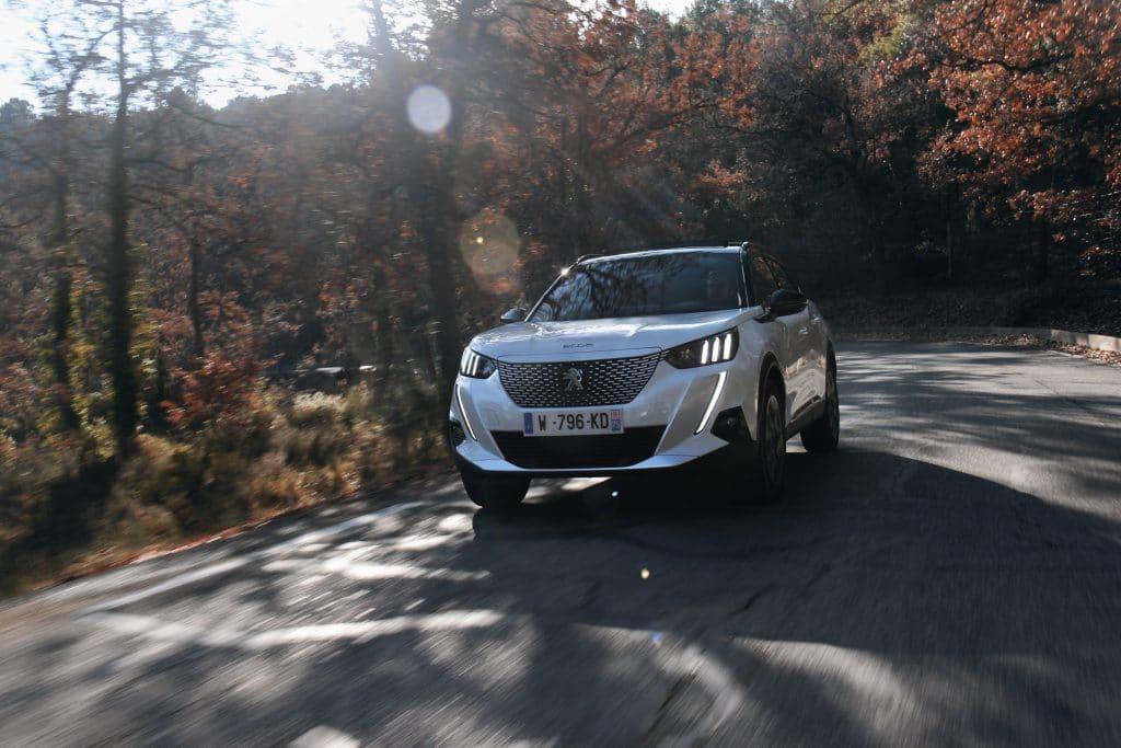 Essai sur route de la Peugeot e-2008