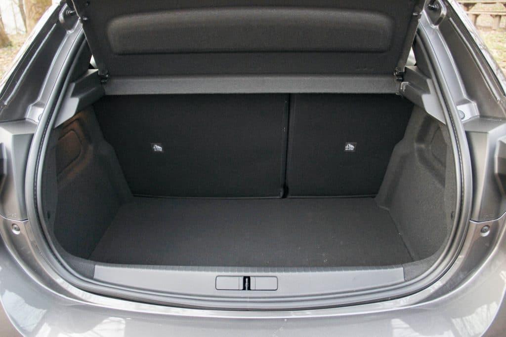 Coffre de l'Opel Corsa