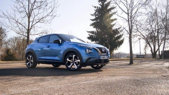 Essai auto du Nissan Juke