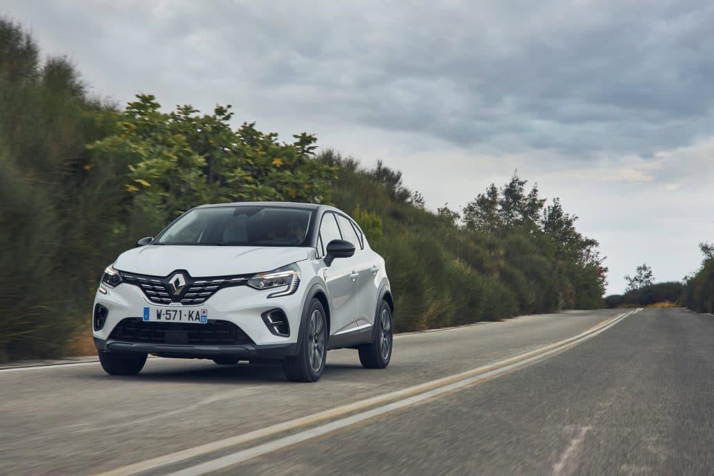 Renault Captur en conduite