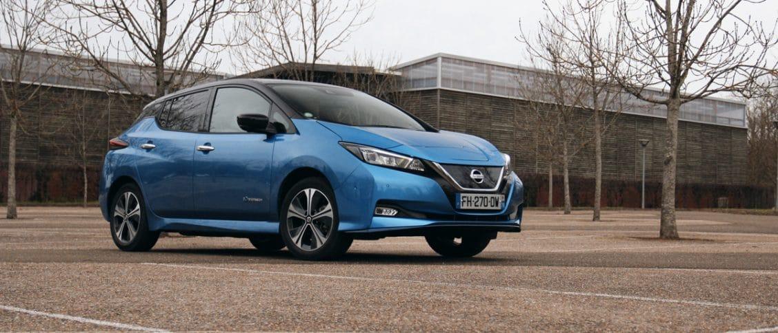 Essai de la Nissan Leaf e+