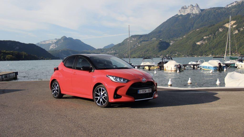 Essai auto de la Toyota Yaris hybride
