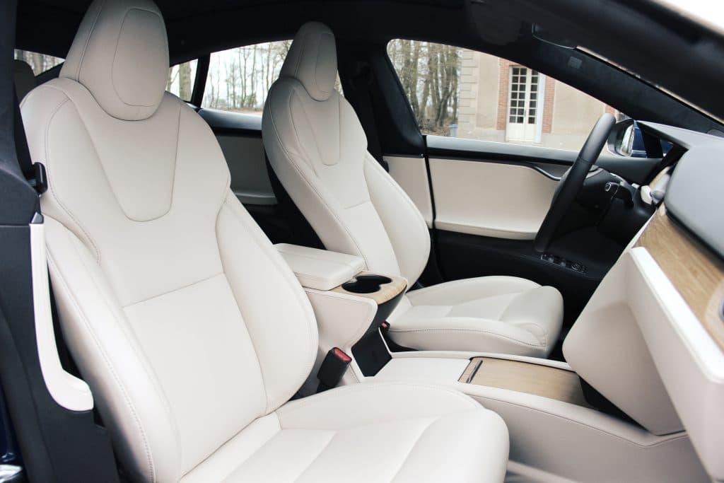 Intérieur de la Tesla Model S