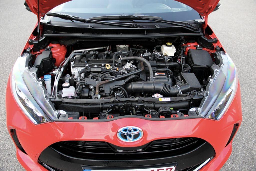Moteur de la Toyota Yaris