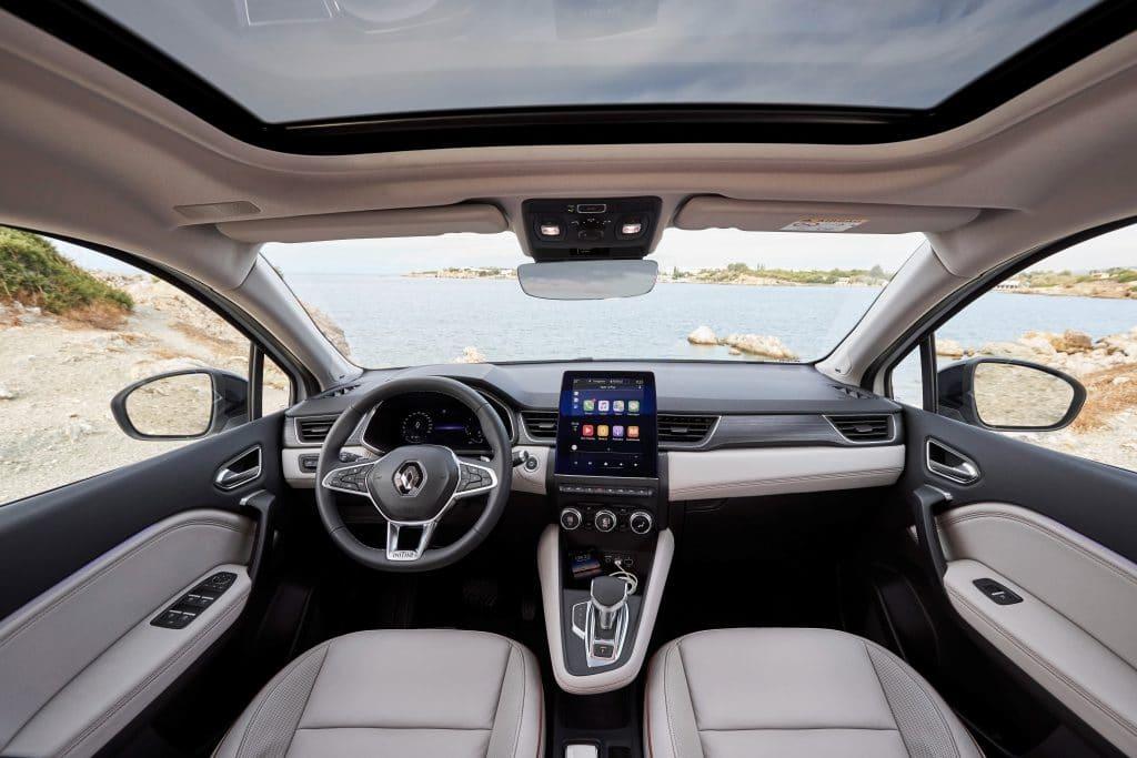 Poste de conduite du Renault Captur