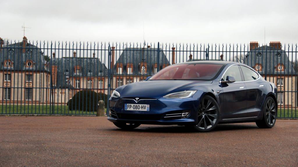 Essai auto de la Tesla Model S