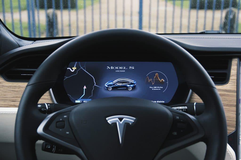 Volant de la Tesla Model S