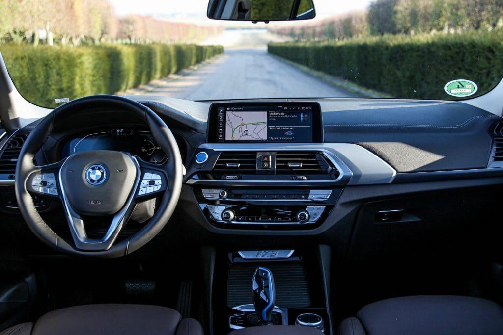 Intérieur du BMW iX3