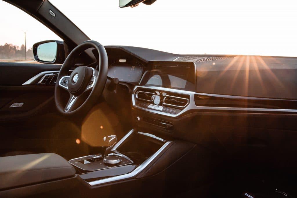Intérieur de la BMW Série 4 Coupé