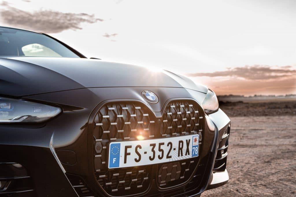 Calandre de la BMW Série 4 Coupé