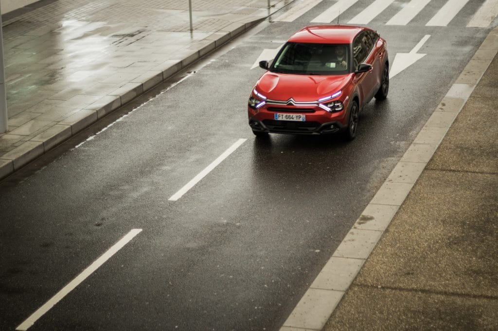 Essai en conduite de la Citroën C4