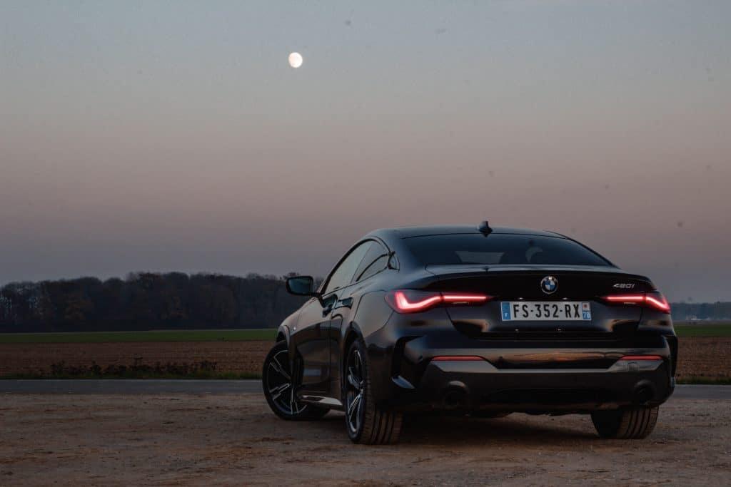 BMW Série 4 Coupé en conduite