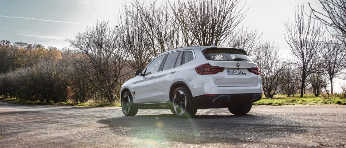 Essai auto du BMW iX3