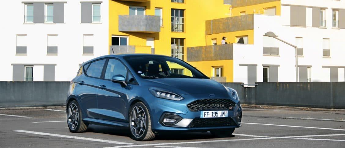 Essai auto de la Ford Fiesta ST