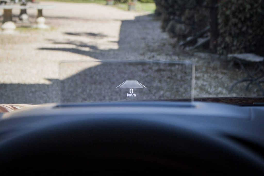 Intérieur du Ford Kuga hybride (FHEV)