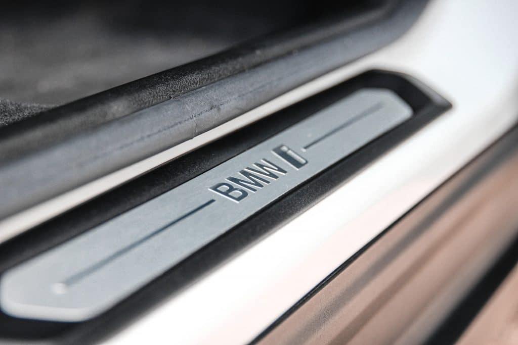 Porte du BMW iX3