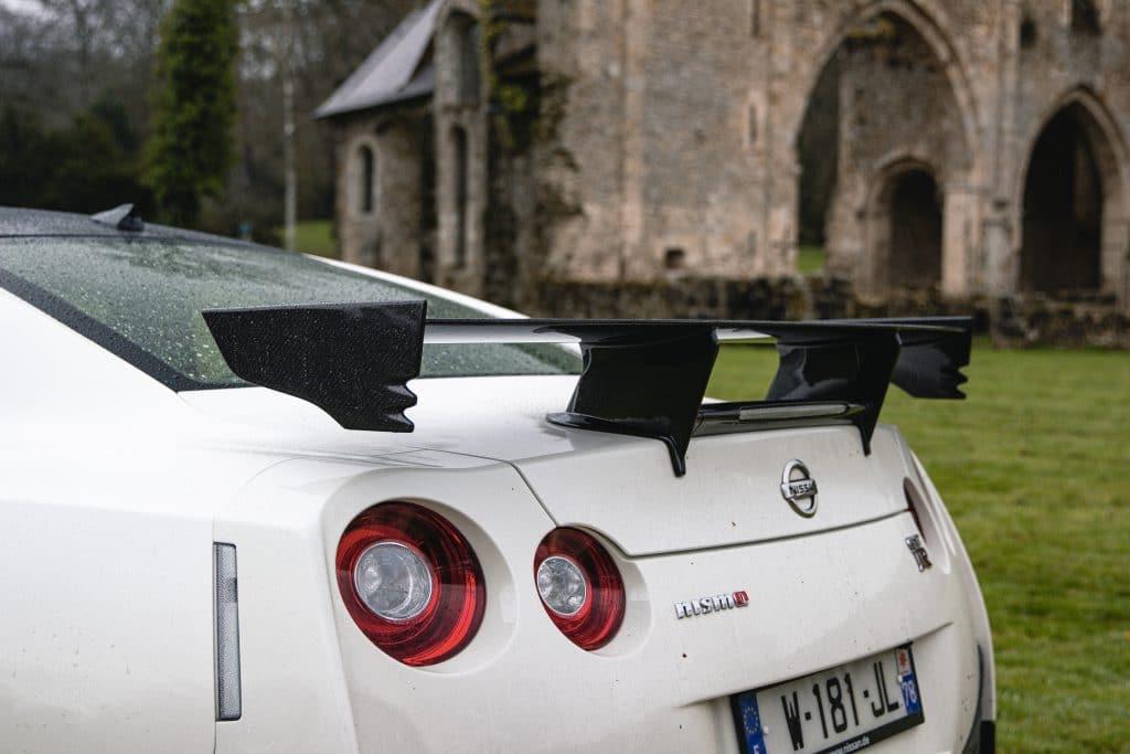 Aileron de la Nissan GT-R Nismo