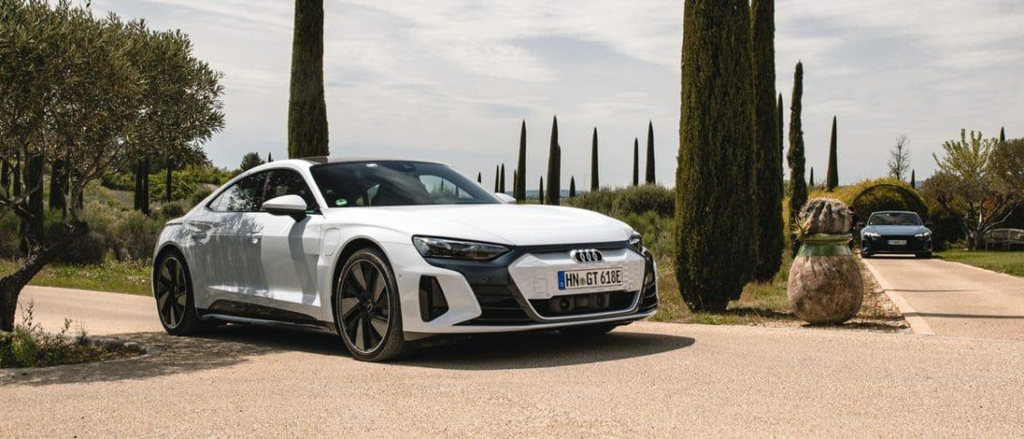 Essai auto de l'Audi e-tron GT