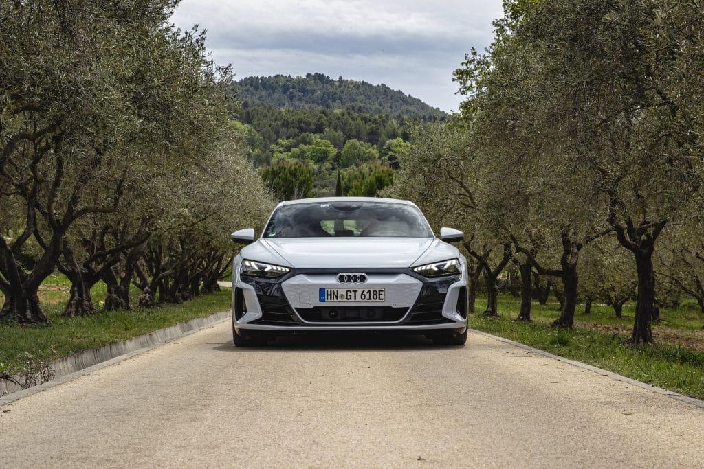 Avant de l'Audi e-tron GT
