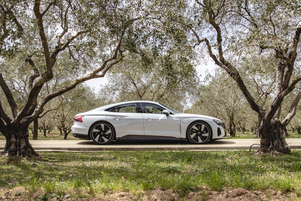 Audi e-tron GT en conduite