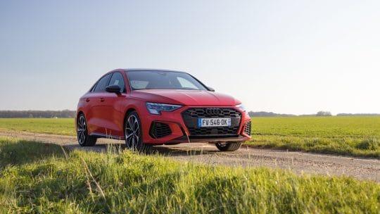 Essai auto de l'Audi S3 berline