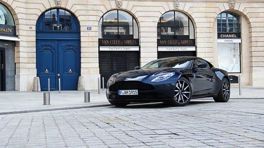 Essai auto de l'Aston Martin DB11