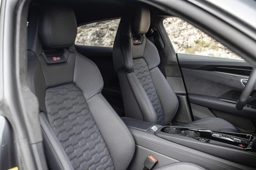 Intérieur de l'Audi e-tron GT